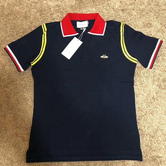 14380f116 Gucci Shirts | New Cotton Polo Shirt | Poshmark